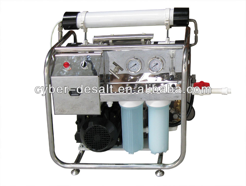 Portable seawater desalination for boat and other small house / seawater desalinator