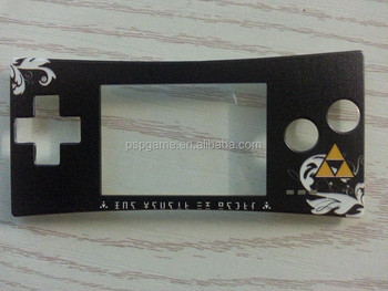 For nintendo Game Boy Micro zelda color replacement part