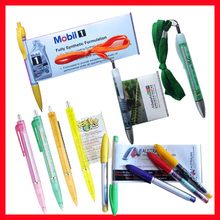Pull out banner advertising pen