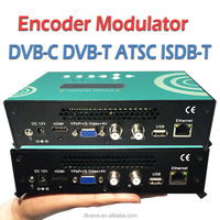 Analog TV System Catv Av RF Modulator With Low Latency MPEG2/H.264 For Radio & TV Broadcasting Equipment