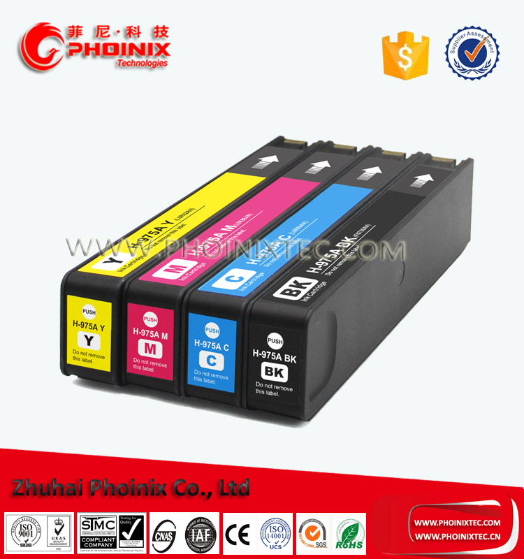 Ink Cartridge 975A For HP 975A ( L0R97AA ) For PageWide 352dw/377 / 452 /477 /552 /577 , PageWide Managed P55250 /P57750