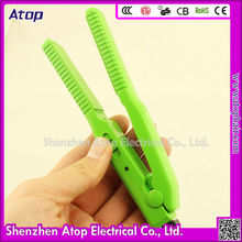 Korean Ceramic Plate Mini Ceramic No Heat Hair Straightener