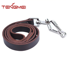 high quality first layer leather dog collars leashes