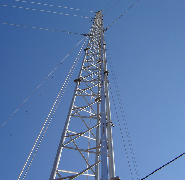 Self Supporting Cell Phones 3 Legs Telecommunication Tower