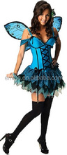 2016 New fashion fairy costume high quality fantasy party costume BWG10683