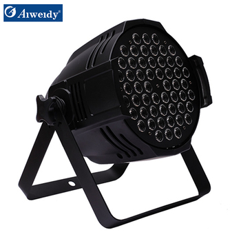 Guangzhou concert stage lights black dmx colour wireless battery rgbaw uv event lighting 200w cob ip65 led par 54 3w can light