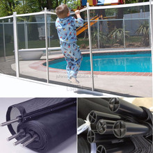 Black Aluminium Fence and Swimming Pool Fence Panels / Powder Coated Metal Fence