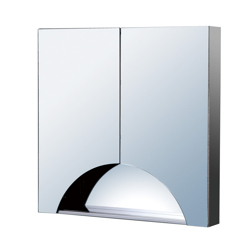Top 10 new design stainless steel mirror cabinet bathroom furniture cabinet