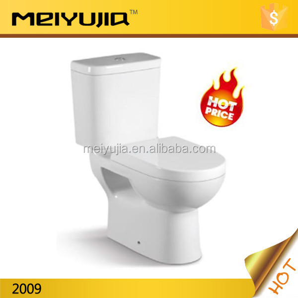 Hot design china supplier cheap two piece ceramic CE toilet
