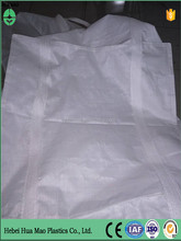 Cubic Type With Cover Top Flat Bottom 4 Loop 100% New Polypropylene 1 Ton Big Bag Cheap Waterproof Bags For PVC Material Storage