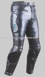 Motorcycle Street Bike Leather Trousers