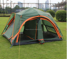 Double Layer with 2 Living Rooms Family Camping Tent