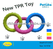 2014 hot sale fashion soft tpr toys pet toys