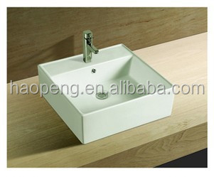 Square Toilet Tank Wash Basin,Above Counter Mounting