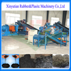 2 years warranty automatic scrap tire recycling production line / tire recycling plant to crumb rubber