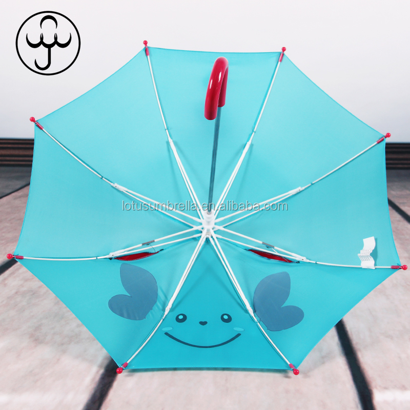 Kids Umbrella With 3D Ear Polyester Children Umbrella With Customized Logo