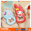 Cute cartoon silicone multifunction custom beer bottle opener factory supply directly