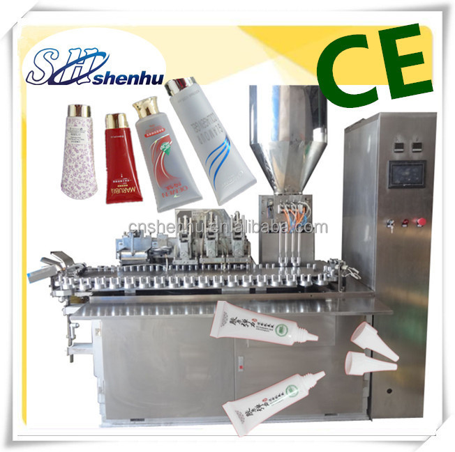 squeeze soft plastic tube sealing and filling machine