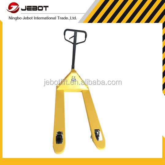 Zhejiang cheap price hand manual push forklift for promotion
