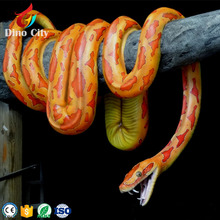 Amusement Park Lifesize Robotic Snake for Sale