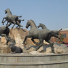 Outdoor Horse Stone Carving And Sculpture