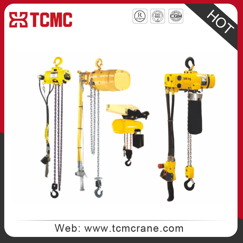 XINHUA pneumatic air-operated chain hoist