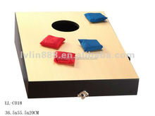 plastic corn hole bean bag toss game /outdoor game /game table