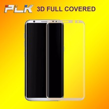 3D Curved Tempered Glass Screen Protector, Anti Explosion Corning Tempered Glass For S8 Plus*