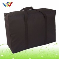 Easy Carry And Large Capacity Travel Bag In Black