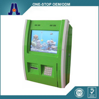 Wall Mounted Self-service Kiosk With Card Reader