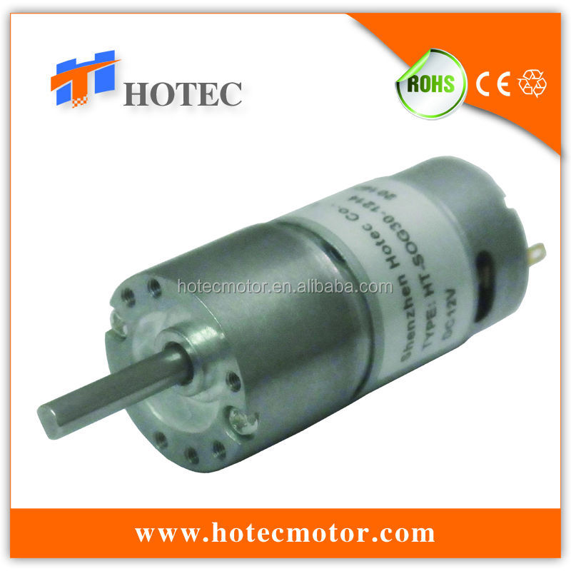 5mm shaft 30mm gear box low noise high torque small 12-volt electric motors