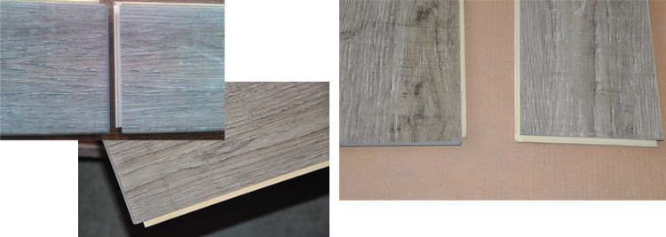 China Manufacturer Wood Texture Vinyl WPC Flooring/WPC Vinyl Flooring For Interior Decoration