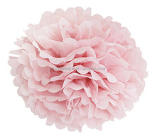 tissue paper pom poms wedding party decorations