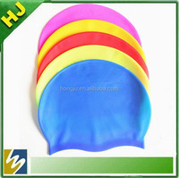 Wholesale silicone funny swimming cap
