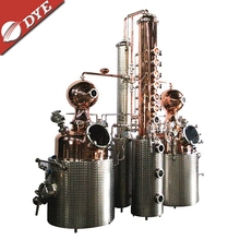Used Micro copper distiller moonshine alcohol still boiler for steam distillation