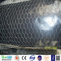 Reverse Twist Galvanized Hexagonal Wire Mesh For Poultry Cage