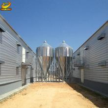Fast Construction Prefab steel structure Shed Prefabricated Broiler Poultry Farm House Design