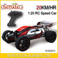 2.4G 1:20 High Speed scale hobby rc car with USB charger