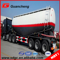 New powder material semi-trailer cement truck dry bulk trailer in China