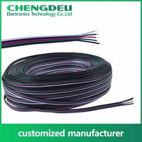 Tinned or bare copper silicone bonding electrical wire for internal wiring