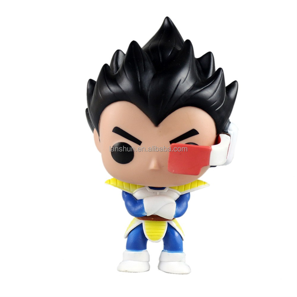 POP Dragon Ball Z 10 Vegeta Vinyl Figure No Box