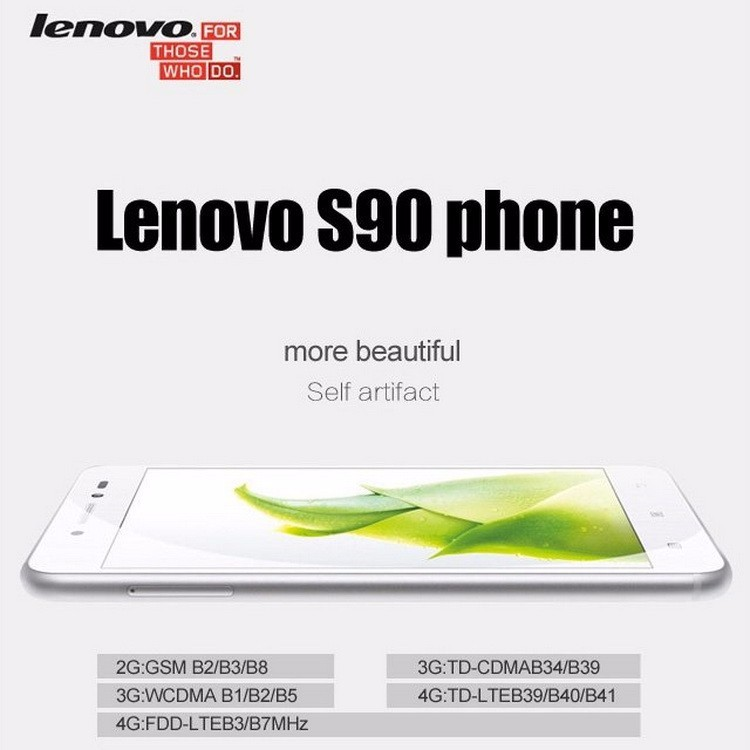 Original Lenovo S90 S90T Quad Core mobile phone Snapdragon 410 smartphone 5inch screen Android 4.4 Dual SIM 13MP 3G WCDMA