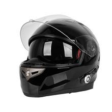Hot Sale Bt Helmet Full-face Bluetooth Safety Ski Motorcycle Helmet with Built-in Bluetooth