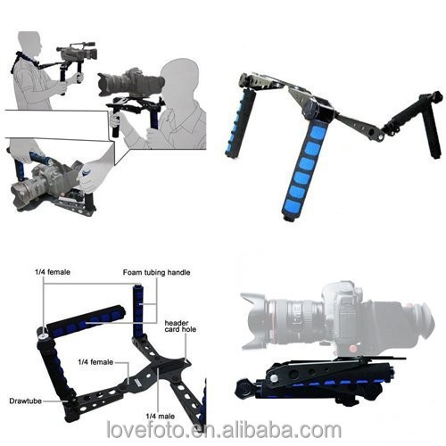 Rig RL-01 DSLR Rig original Movie Kit Shoulder Mount for any DV Camera