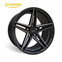 "Zumbo-S0028 Black milled forged alloy aluminum truck wheel rim 18"" 4x4 Monster Toyota real beadlock alloy wheel"
