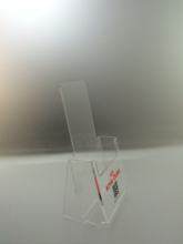 acrylic material rack brochure holder