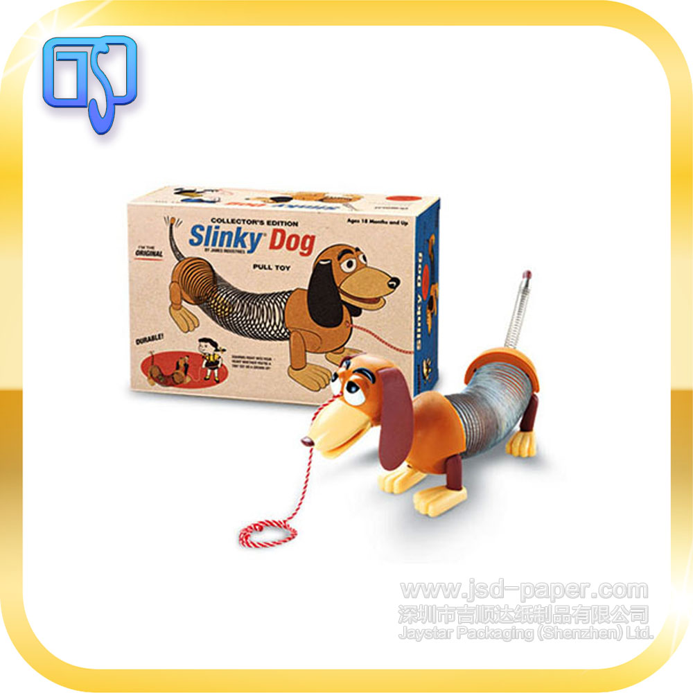 cute slinky dog packaging paper sex toy packaging box