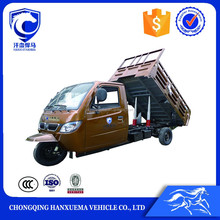 Heavy loading van cargo tricycle with cabin