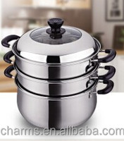 stainless steel 30cm food steamer