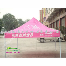 2017 high quality useable demo quick folding tents